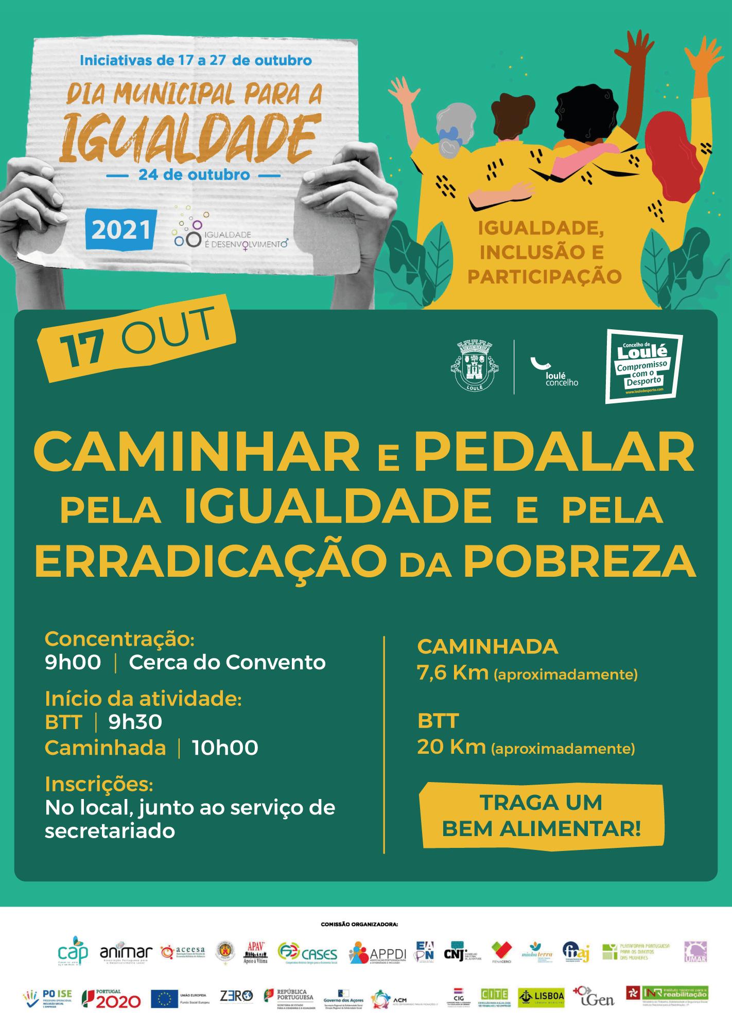 You are currently viewing Caminhar e Pedalar pela Igualdade