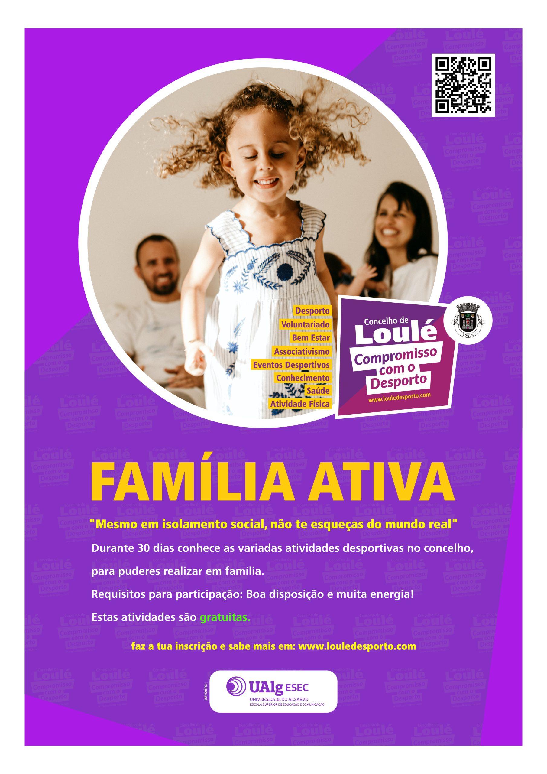 """Projeto """"Família Ativa"""""""