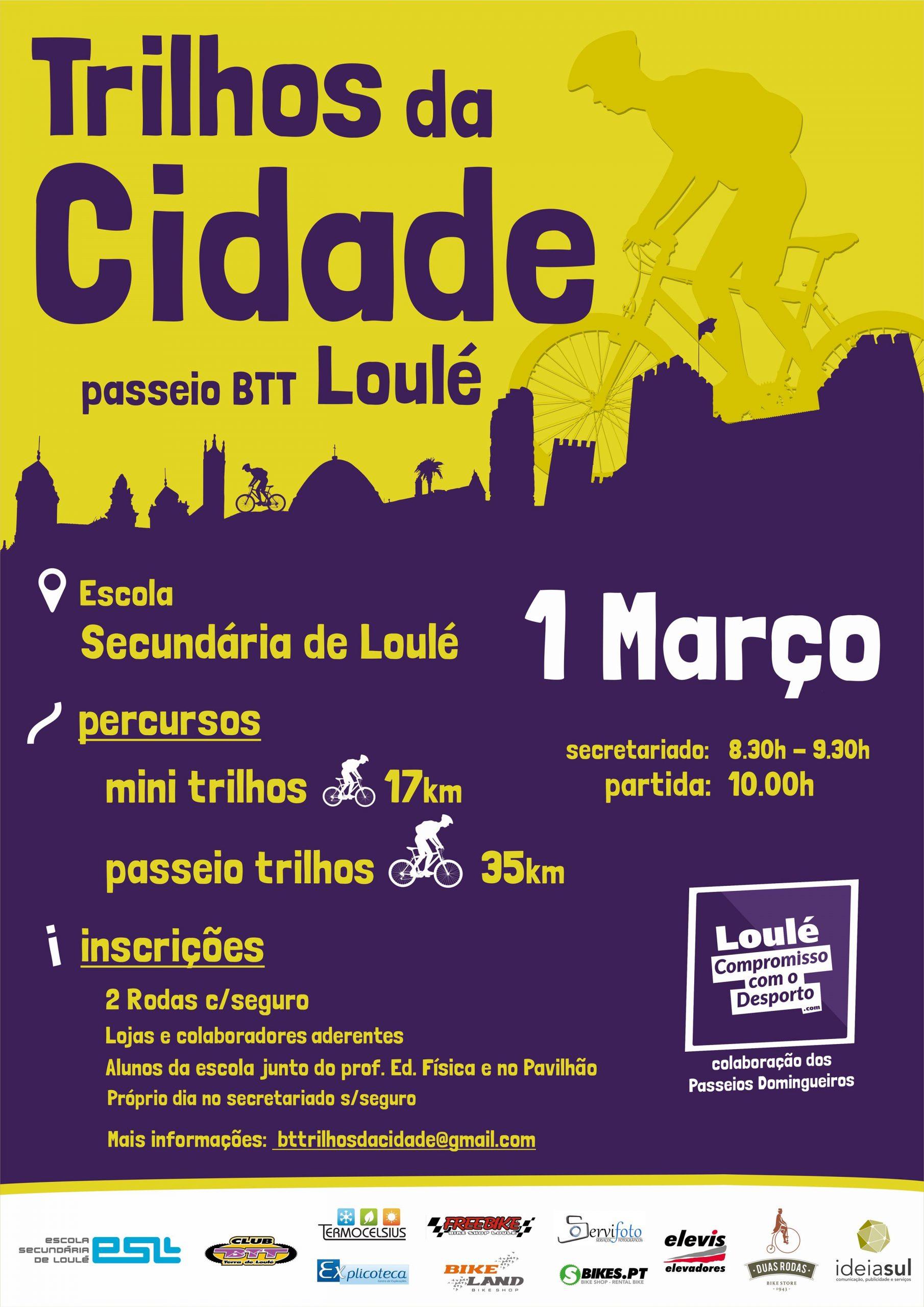 Trilhos da Cidade – Passeio BTT Loulé